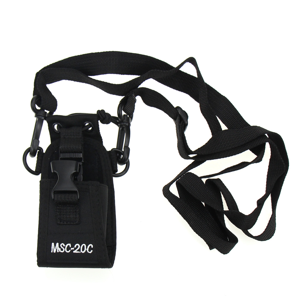 Walkie Talkie Pouch MSC-20C Nylon Radio Bag Case Holder For Baofeng UV-B5 UV82 UV8 D GT-3 UV5R BS Walkie-talkie Bag