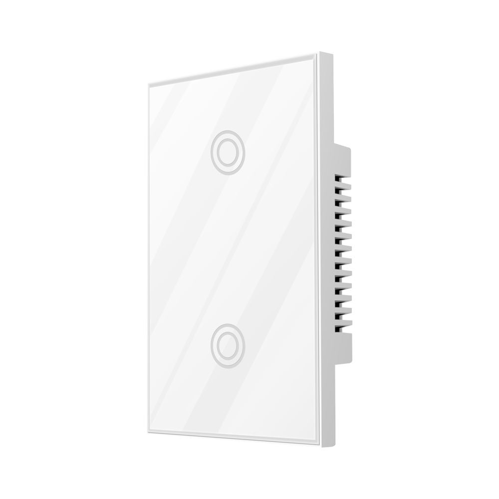 NEO COOLCAM NAS-SC01Z Z-wave Wall Light Switch 2 Gang US Type EU 868.4MHZ Z Wave Wireless Smart Remote Control