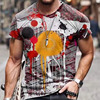 Summer Casual Short Sleeve T-Shirts For Mens  18