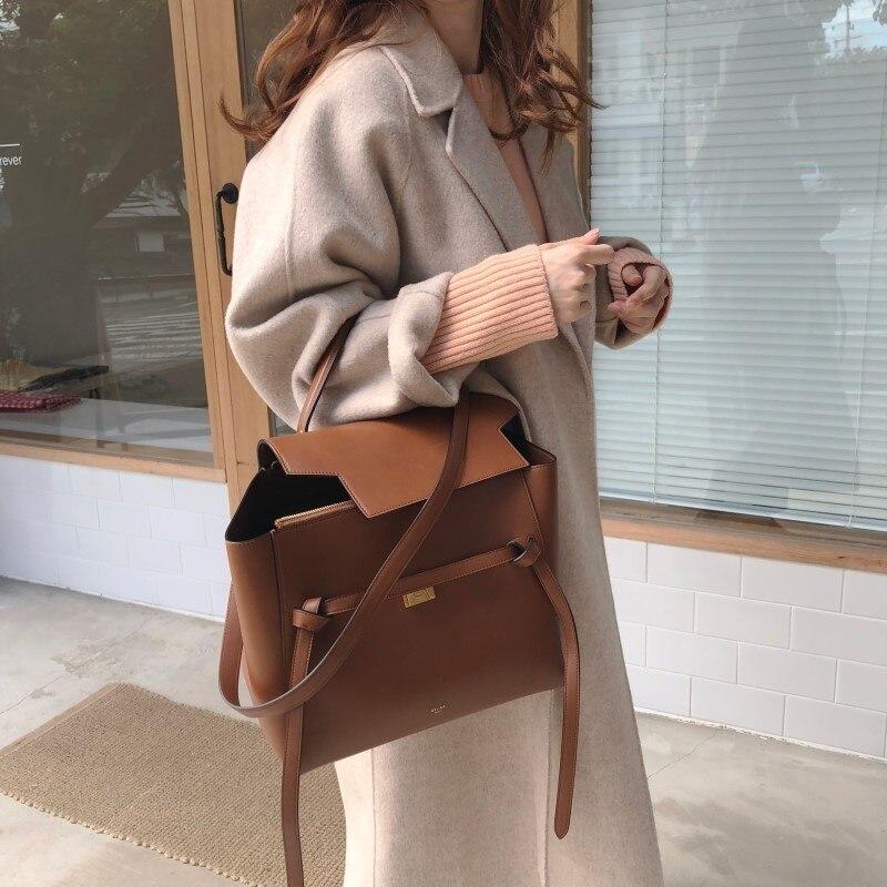 19 Winter Oversize Long Trench Coat Women Cashmere Coat Korean Lady Windbreaker Outwear Streetwear 72