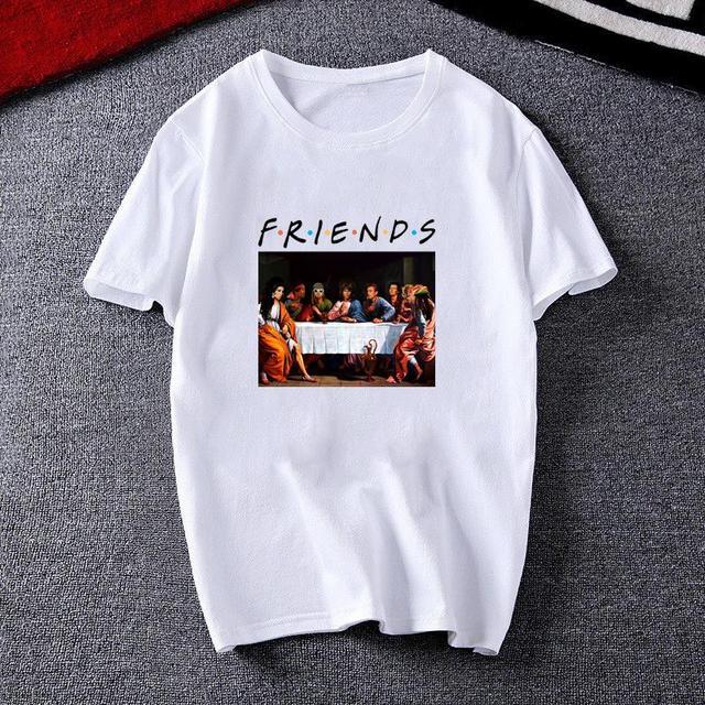 DAVINCI STYLE FRIENDS T-SHIRT (9 VARIAN)