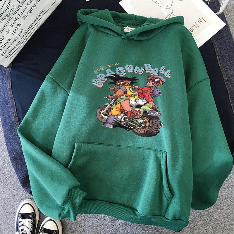Japanese Anime Printed Hoodies 2021 Spring Autumn Long Sleeve Hoodie Women Cartoon Graphic Streetwear Sweatshirts Female Tops 20