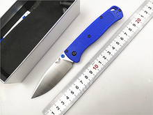 OEM D2 Folding Knife Glass fiber handle Outdoor camping hunting pocket knife Folding tactical survival knives tool
