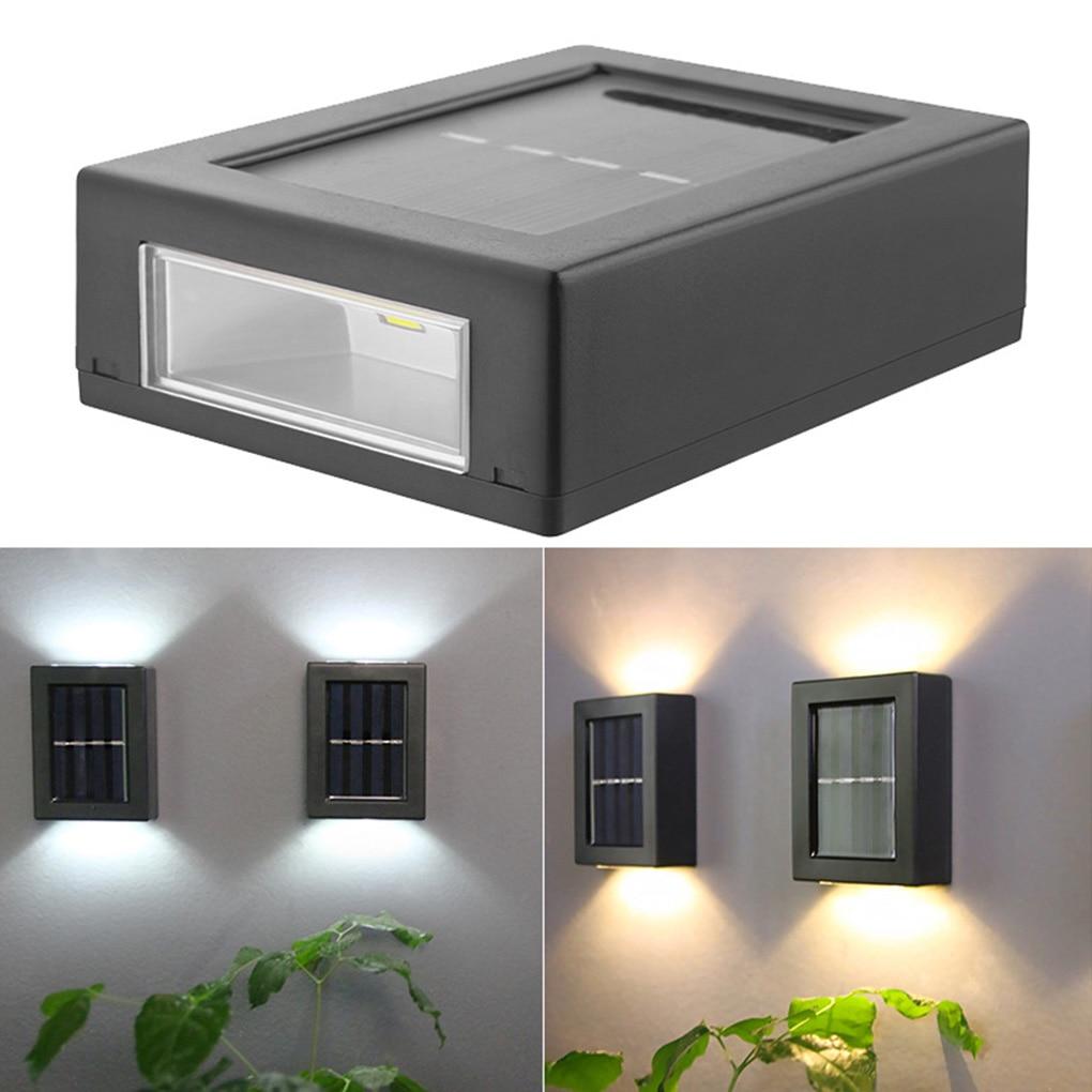 solar, lâmpada de parede decorativa para áreas