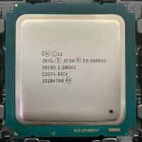 Intel Xeon E5 2696v2 E5 2696 V2 E5 2696v2 2 5 GHz 12 Core 24 Hilo de procesador de CPU 30M 115W LGA 2011 adecuado para X79 placa base|CPUs| |  -