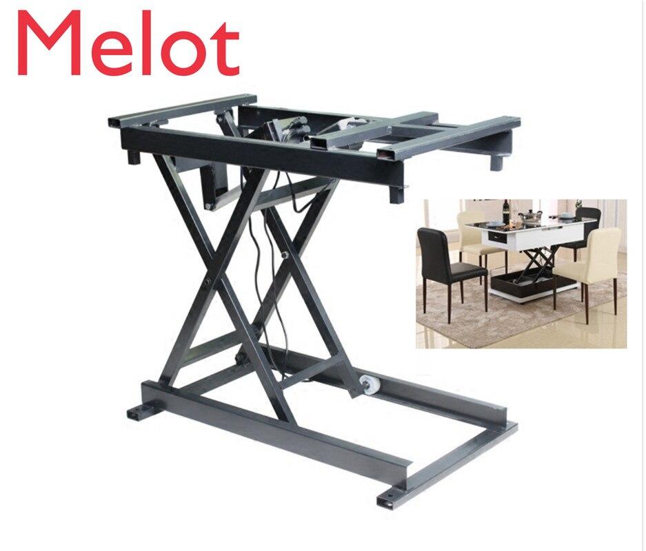Бесплатная доставка, умные аксессуары для дома, проводной беспроводной электрический лифт, кофейный столик, обеденный стол, фурнитура, скла