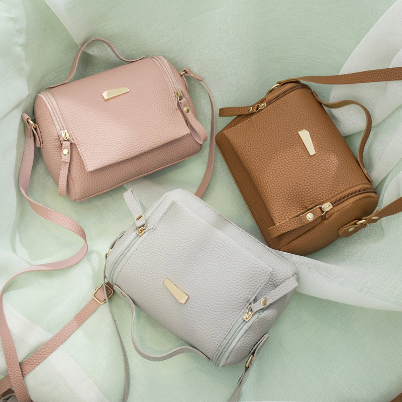 Fashion Casual Phone Coin Shoulder Bag Small For Women PU Leather Messenger Bags Solid Clutch Crossbody Mini Bag
