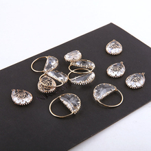 2 pcs new fashion copper plated gold zircon cutout round flower drop earrings for women pendant accessories diy jewelry findings