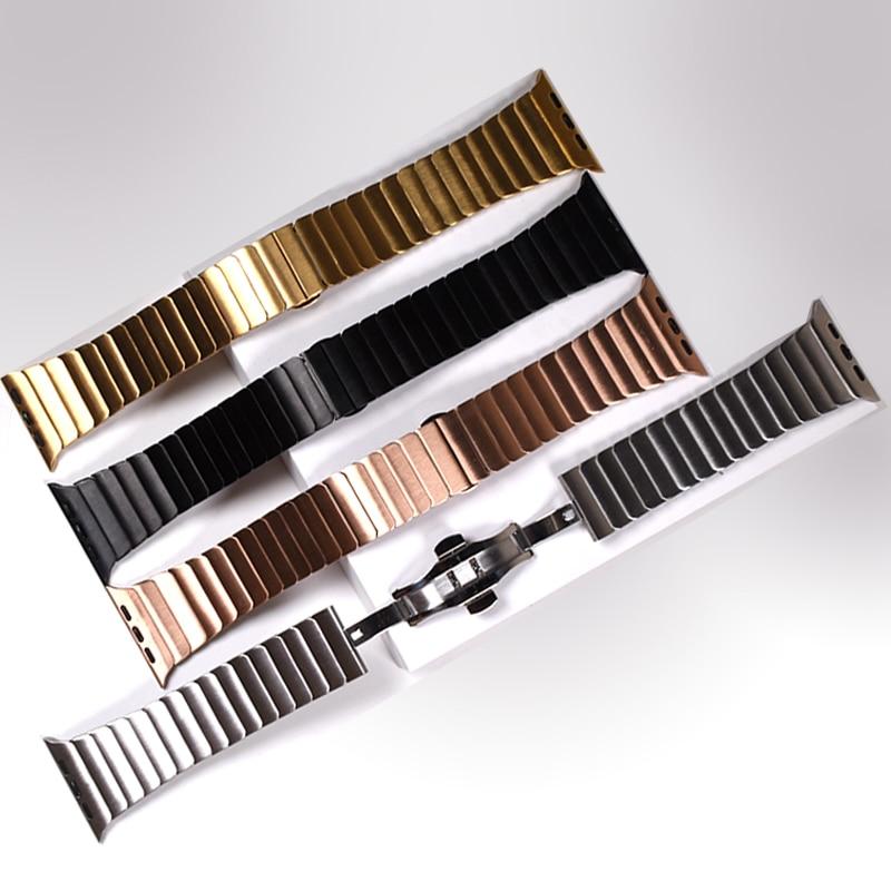 Купить ремешок металлический для apple watch series 5 4 3 2 40 мм 44