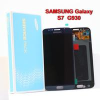 100% ORIGINAL Super AMOLED S7LCD with Frame For SAMSUNG Galaxy S7 G930 G930F Mobile phone Display Touch Screen Digitizer replace