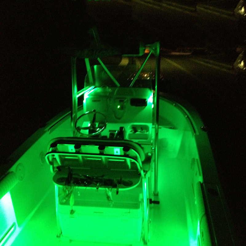 LED phi Thuyền Chống Nước 12 V Nơ Đuôi Tàu An Toàn Đèn Vịt Biển Lite Dưới Nước Trượt Tuyết Gunwales Làn Đường Bút Lite Dirtbike