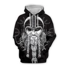 Tessffel Unisex Viking Tattoo Warriors Tracksuit Newfashion casual MenWomen 3DPrint Sweatshirts/Hoodie/shirts/Jacket s-24