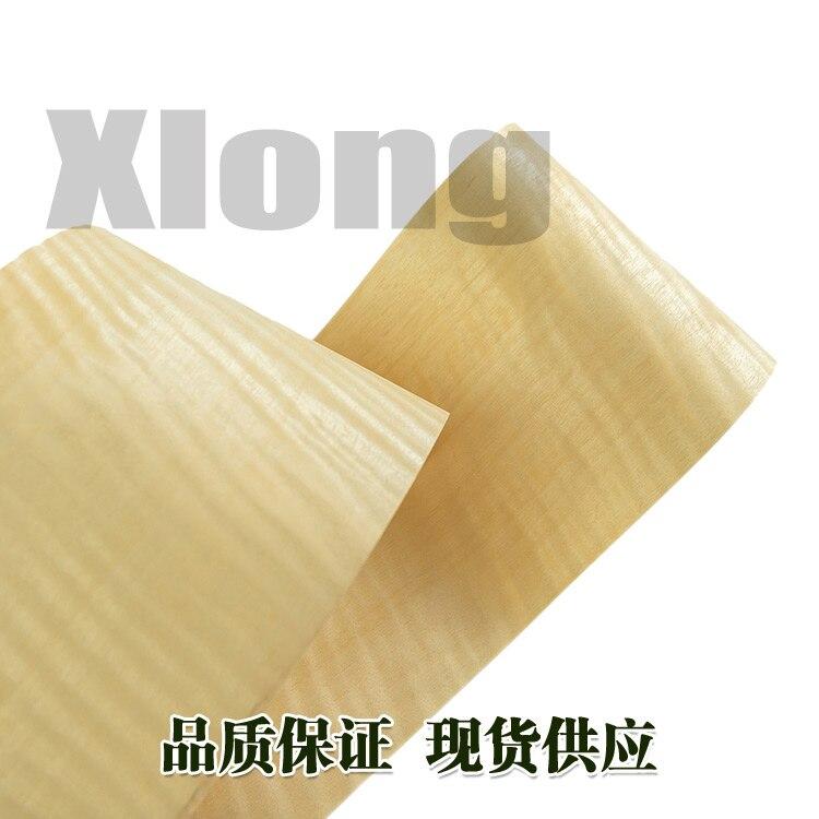 L:2.7Meters Width:160mm Thickness:0.2mm Natural Miscellaneous Wood Shadow Straight Grain Natural Veneer Thin Skin Manual Veneer