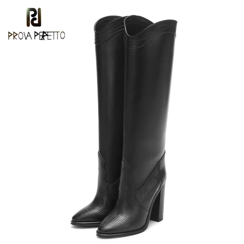 2020 novo produto super salto alto sexy botas femininas outono/inverno apontou toe deslizamento no joelho-alta microfibra simples moda botas