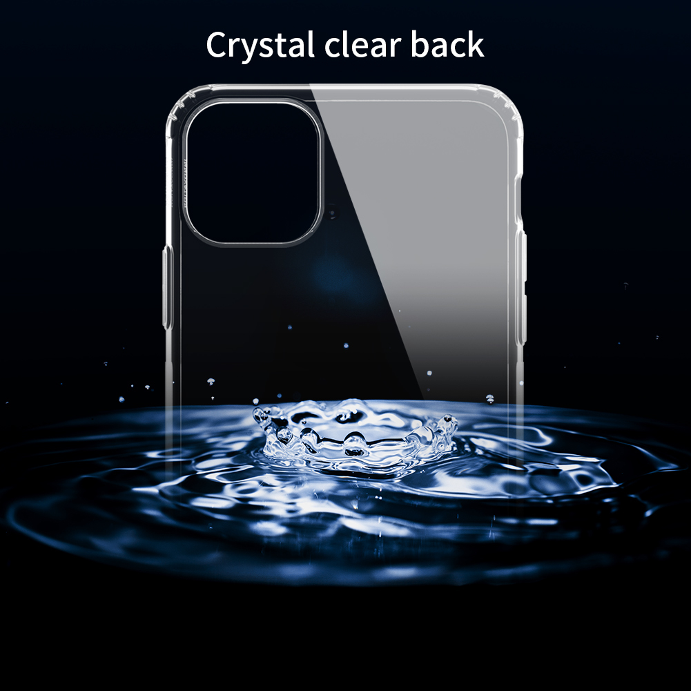 Crystal Clear Back Cover Nature Transparent Case for Apple iPhone 12