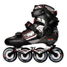 2020 оригинальная профессиональная модель роликовых коньков SEBA KSJ Shadow из углеродного волокна, скользящая обувь для катания на коньках без патина