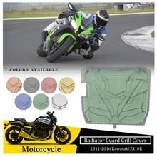цена на For Kawasaki Ninja ZX10R Radiator Guard Grill Grille Cover Protector 2011 2012 2013 2014 2015 2016 ZX 10R ZX1000 Accessories