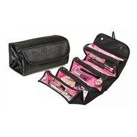 Dobrável feminino cosméticos saco de armazenamento organizador compõem sacos de viagem