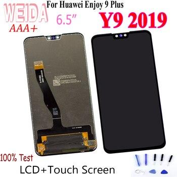 WEIDA 6,5 pulgadas para Huawei Y9 2019 / ENJOY 9 Plus LCD Display MONTAJE DE digitalizador con pantalla táctil para Y9 2019 LCD reemplazo con herramientas