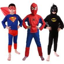 1 conjunto bebê recém-nascido roupas de natal coleção menino azul super homem traje crianças cosplay festa festiva presente n6461