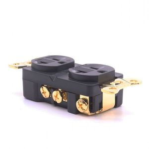 Image 3 - hifi Furutech Rhodium plated US AC Duplex Receptacles Wall Outlet Power Distributor