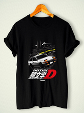 Summer Tops For Man New Initial D Car Drift Anime Cartoon Classic Casual T-Shirt S,M,L,XL,2XL,3XL O Neck Tee Shirt Short Sleeve