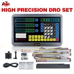 Hxx cyfrowy odczyt (DRO) 3 osi dro i skala liniowa dro system w Przyrządy do pomiaru poziomu od Narzędzia na