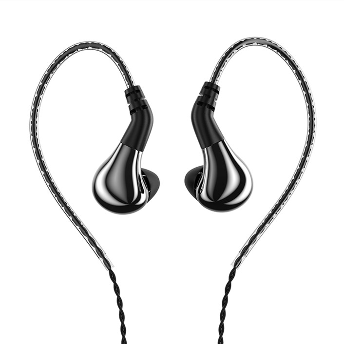 2019 BLON BL-03 BL03 10mm Carbon Diaphragm Dynamic Driver In Ear Earphone HIFI DJ Running Earphone Earbuds Detachable 2PIN Cable image