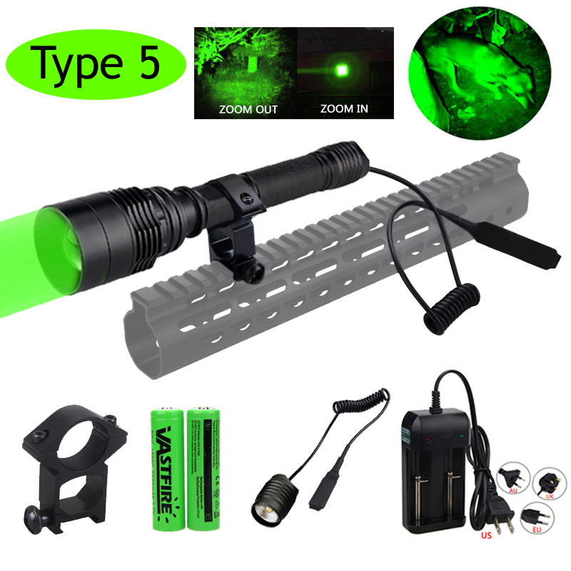 Super 10000LumensT6 Zoomable Tactical military LED 18650 Flashlight Torch Lamp