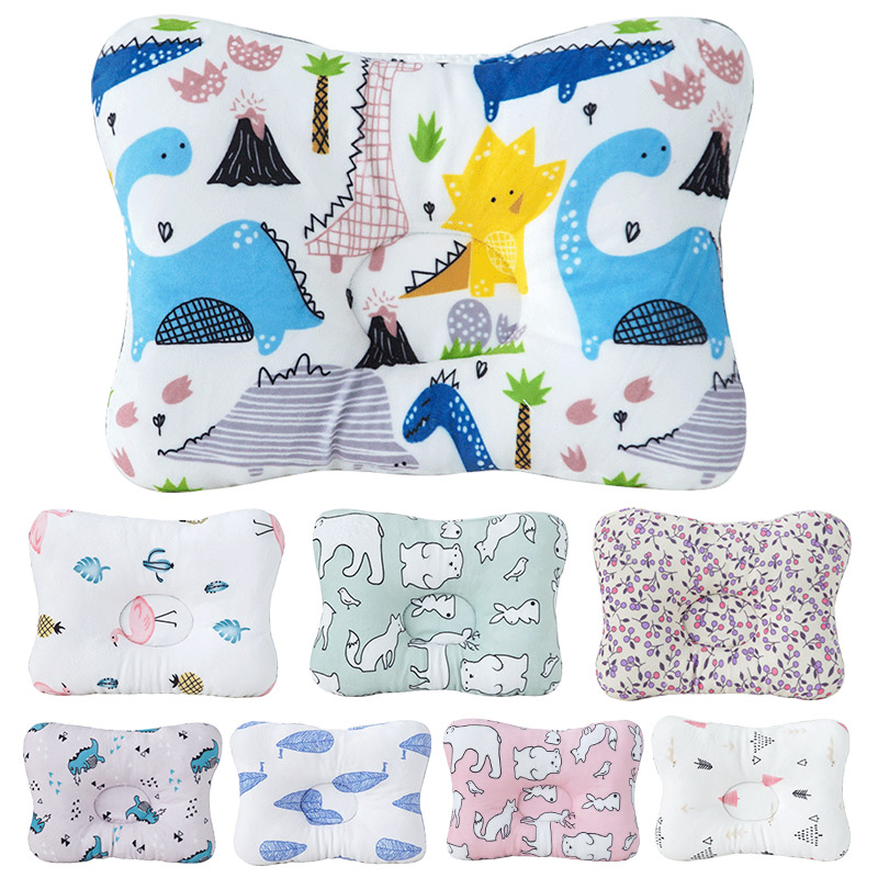 Dropship Baby Nursing Pillow Head Fixed Sleeping Pillow Child Protection Cushion Safety Headrest Baby Bedding Set Room Decor