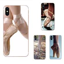 Ballet Pointe TPU Protector Cases For Xiaomi Redmi Note 2 3 3S 4 4A 4X 5 5A 6 6A Pro Plus(China)