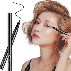 1 pièces Eyeliner imperméable sans floraison liquide Eyeliner noir à séchage rapide Eyeliner stylo Durable Eyeliner liquide Durable maquillage des yeux