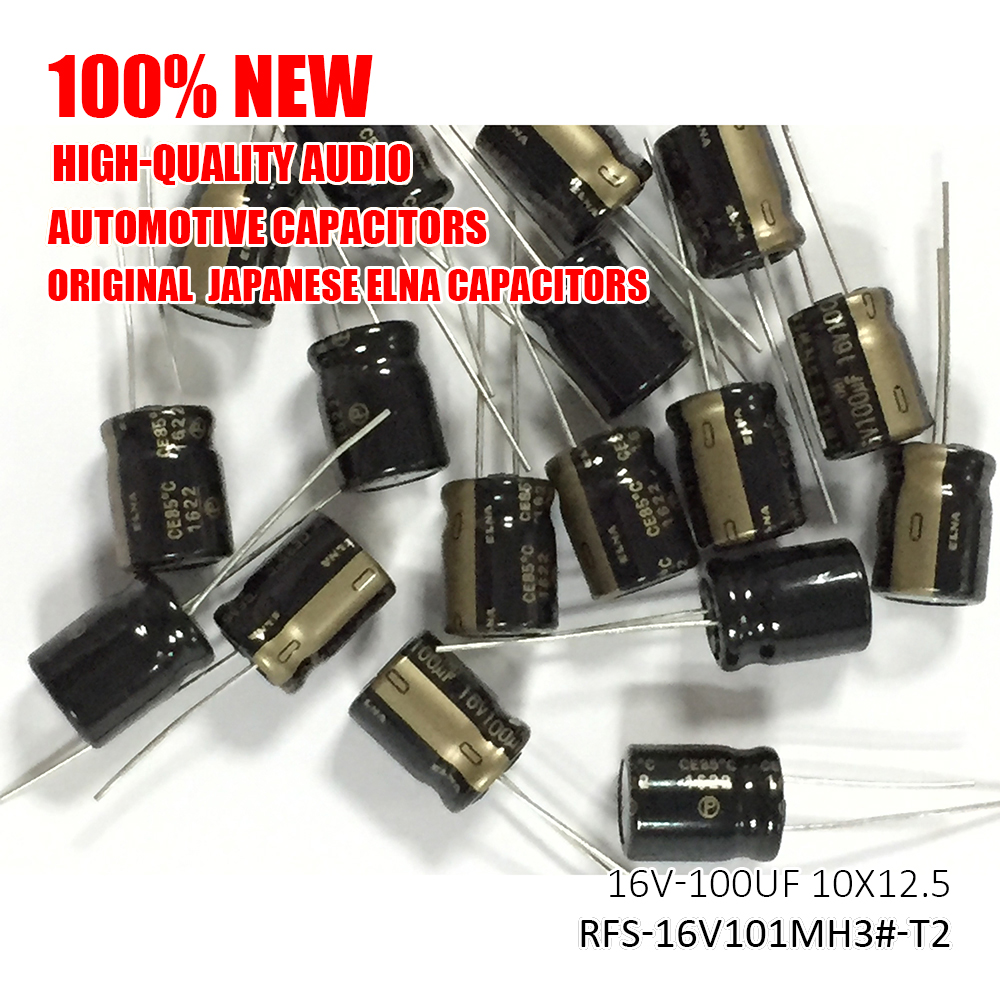 50pcs 3000uF 16V 16x32mm ELNA For Pioneer HiFi Audio Capacitor MADE IN JAPAN