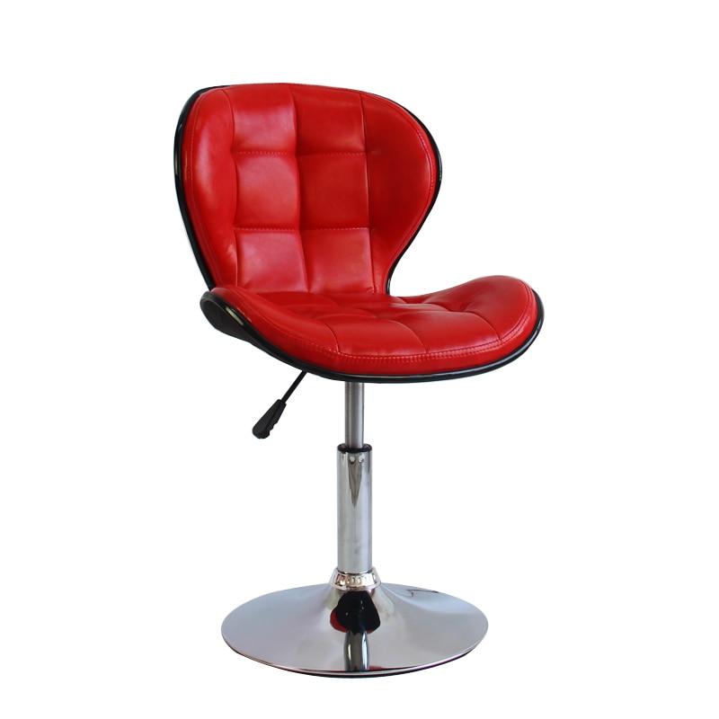European Bar Chair Lift Bar Stool Swivel  Modern Minimalist  Beauty  Nail Makeup Artist
