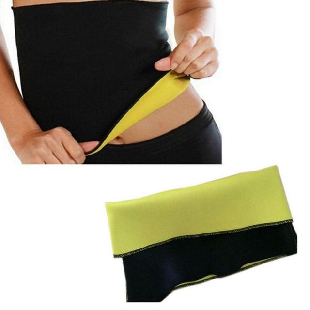 2019 New Fitness Women Slimming Waist Belts Neoprene Body Shaper Training Corsets Cincher Trainer Promote Sweat Bodysuit
