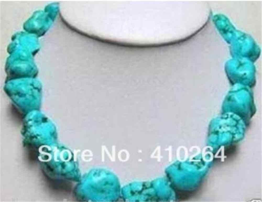 Perhiasan Kalung Mutiara Wanita Lady Fashion Perhiasan Menawan! 13X18 Mm Turki Kalung Pengiriman Gratis