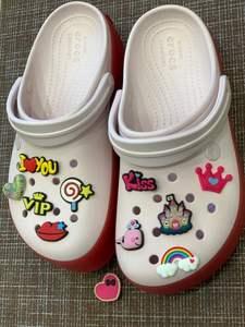 Shoe-Accessories Decoration Bracelet Jibz-Fit Rainbow Croc Christmas Sweet Baby Kids