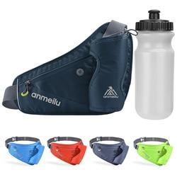 Outdoor Waist Belt Bag Portable Ultralight Waist Packs Phone Holder For Trailing Running Camping With 450ml Water Bag
