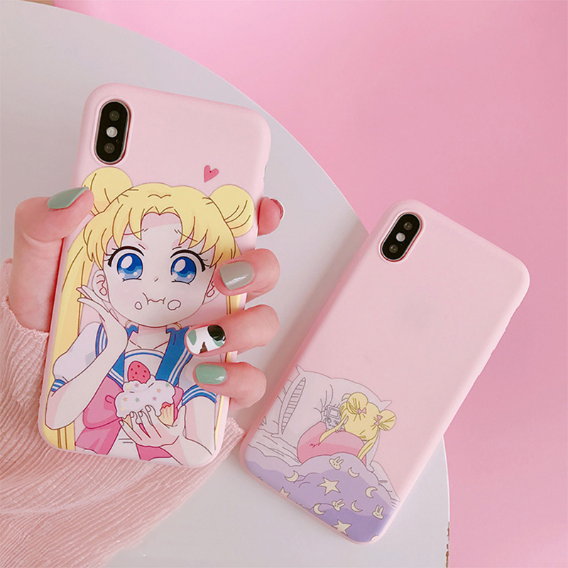 Cute Cartoon Phone case For Xiaomi Mi Note 10 9t A3 9 lite POCO X3 Cover For Redmi Note 7 8 9 Pro 9s 8t Soft Cover Back Cases