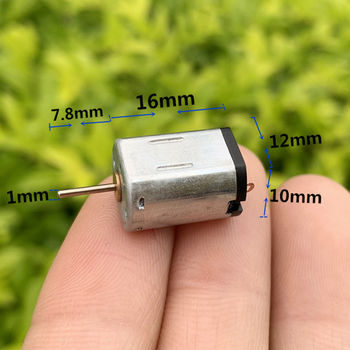 Micro 12*16mm N20 Motor N20-1580/1682/1765/1860 DC 3.7V-7.4V 6V 47500RPM High Speed Mini Electric DIY RC Drone Toy Car Boat image