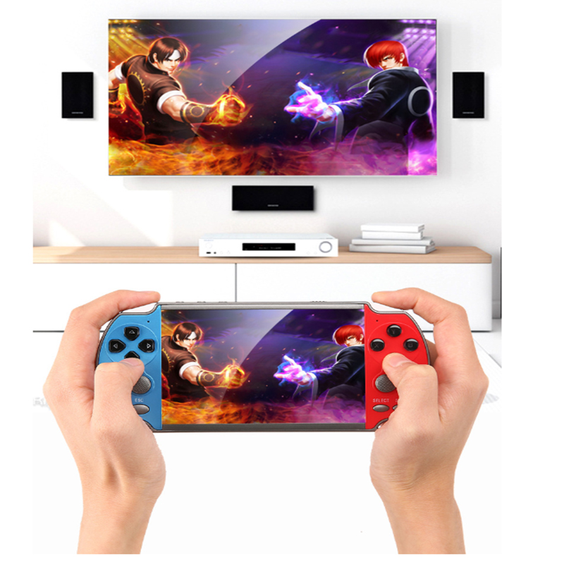 Portable Retro Classic Game Console Handheld  boy nostalgic 200 Built-in 4.3 inch TFT screenGames for Child Nostalgic Player