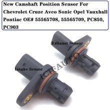Novo sensor de posição da árvore de cames para chevrolet cruze aveo sonic opel vauxhall pontiac oe #55565708, 55565709, pc850, pc903