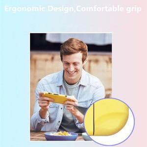 Image 4 - Para nintendo switch ns joy con caso capa para pc protetor exterior coque escudo nintend switch console destacável ultra fino puro colo