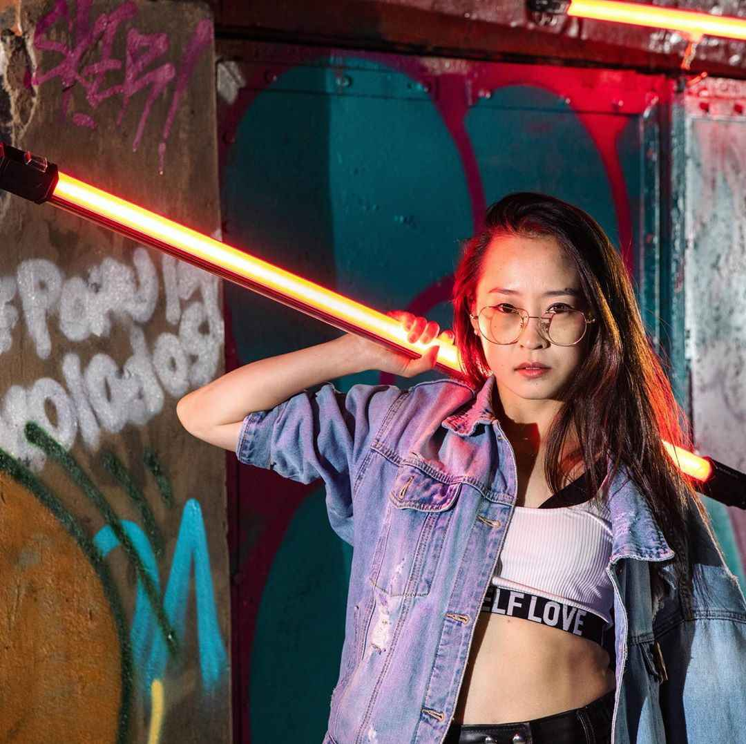 NANLITE NanGuang LED tüp ışık RGB renk Pavotube 15C/30C 77cm 117cm 2700K-6500K el işık çubuğu youtube canlı akışı