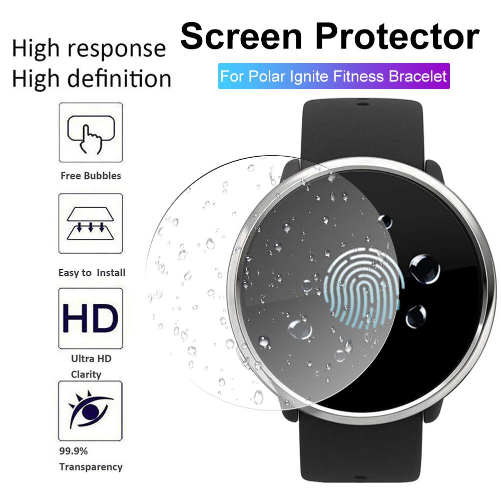 New High-quality Tempered Glass Clear Protective Film For Polar Ignite Fitness Smartwatch