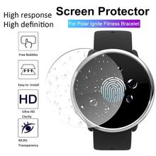 New High-quality Tempered Glass Clear Protective Film For Polar Ignite Fitness Smartwatch Tempered Glass Clear Protective Film цена 2017