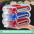 Kitchen Gadgets Fruit Vegetable Tools Peeler Shredding For Kitchen Stainless Steel Blade Function 3 In 1 Easy To Clean Replace