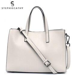 SC حقيبة يد جلدية للنساء 2019 عالية الجودة حقيبة كتف جلدية السيدات كبيرة حمل حقيبة مكتب اليومية فيمال Crossbody bolso mujer