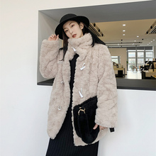 Fur Coat Women's Coat Plush Jacket Female Coat Winter Women's Jacket Women's Winter Coats 2021 Fur Coat Women Teddy Bear Coat
