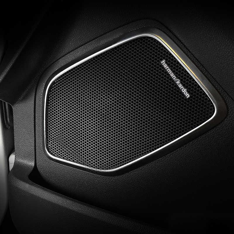 1 pièces voiture audio décorer ajustement harman kardon Pour BMW E46 E39 E60 E90 E36 F30 F10 X5 E34 E30 Lada haut-parleur Voiture autocollant style